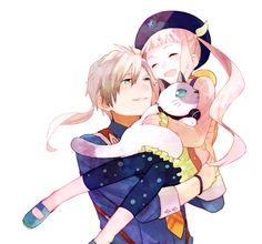 Ludger and Elle Tales of Xillia