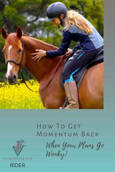 Even if we manage to graciously surrender to the moment, momentum can be hard to get back, and it's easy to find yourself in a situation where the dust has lifted, your scratchy eyeballs are cured and your ear reattached, but now your mojo has left the building. >> Confident Rider - mindset, movement and nervous system awareness for equestrians Emotional Resilience, Training Exercises, Nervous System, Equestrian, Confident, Mindset, Finding Yourself, Ear, In This Moment