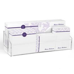 Purple Damask Post-it® Notes Ensemble
