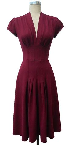 Trashy Diva Dress.  Trashy Diva, despite the potentially off-putting name, is a haven for women with curvier figures than the high street has in mind.  In keeping with the retro style of the clothes, everything from Trashy Diva is cut for an hourglass figure.  Happy shopping!