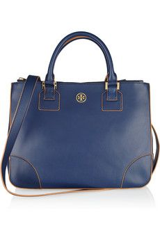 Tory Burch. blue & gold, another dream color combi