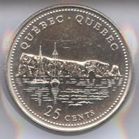 Canadian Coin Collection: Quebec 1992 - 125th Anniversary of Confederation