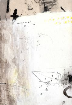 Miwha Han original drawing.  Grease pencil,acrylic,on acid free paper
