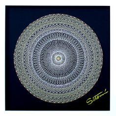シュタイナー(素数) 糸かけ曼荼羅 内なる輝き BL008