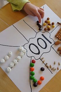 Great idea for celebrating 100 days of school.