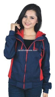 Jaket wanita CTN 18-523 fleece biru L-XL. Rp 203.500. a8c2350156