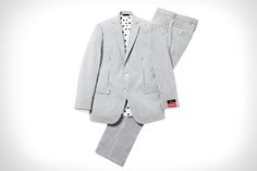 Supreme x Brooks Brothers Suit Is Perfect For Spring