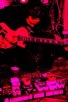 #LookingForDroids #album launch party @ #Dogstar #Brixton #London in #Technicolor by #SijaMejt 28.04.2012