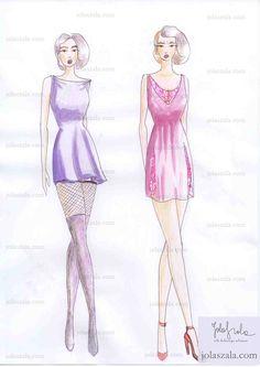 - Nie zakładaj sukienki mini-mini. Zestaw z kabaretkami i długimi, sięgającymi połowy ud kozakami jest niestosowny, a nawet wulgarny. Nadmierne przejrzystości i odsłonięcie zbyt wiele określa banalny, w złym guście wizerunek. Zbyt krótkie sukienki wcale nie są sexy! on Jola Szala - Siła kobiecego ubrania  http://jolaszala.com/porady-joli/jak-ubrac-sie-na-impreze/#sg2