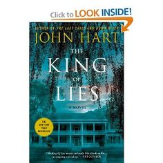 The King of Lies by John Hart - read this on vacation - first time reading Hart's work.  I really liked this one and just purchased Down River for my Kindle