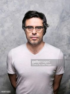 Jemaine Clement photo by gettyimages. Matt Berry, Jemaine Clement, Flight Of The Conchords, Vampire Love, Taika Waititi, Evanescence, Write To Me, Funny People, Getting Old