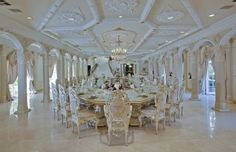 Le Chateau d'Or featured on HGTV's Million Dollar Rooms. Not my cup of tea, but definitely grand!