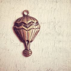 5 Pcs Hot Air Balloon Charms Antique by ingredientsforlovely, $3.00