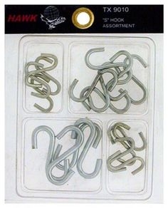 Assorted s Hooks Style S hooks Model -- More info could be found at the image url.
