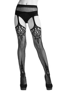 Gothic Garter Stockings Hosiery