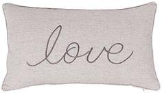 ADecor Pillow Covers Love Lumbar