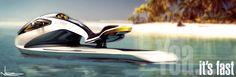 Daniel Nikonchik Designed Jet ski. Tangent Design Group Inc.
