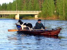 Eager fishers by Möhkö in Carelia Finland