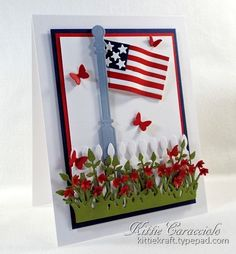 Happy Birthday America by kittie747 - Cards and Paper Crafts at Splitcoaststampers