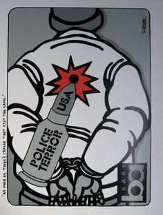 emory douglas art | Emory Douglas : The Roots of Political Street Art
