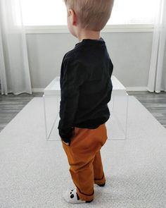 Black & Brown Black And Brown, Parachute Pants, Baby Boy, Boys, Fashion, Baby Boys, Moda, Fashion Styles, Senior Boys
