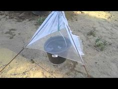 Paarmapyydys ( diy) Tabanidae trap. horsefly trap. From Finland - YouTube. In english:  Sunshine warms bucket with soapwater and tabanidae hunts with heatsensor. It start flying upwords and thats why it goes to net.It starves and drops to soapwater. If this is close to horse or cattle,you can catch over hundred per