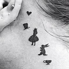 Alice in Wonderland tattoo More
