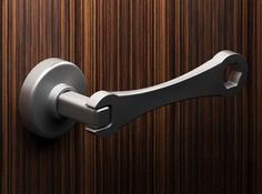 recycling ideas to design unusual door handles