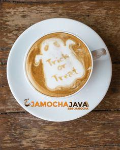 Trick Or Treat! Halloween Spooktacular - 15% Off All Signature Blends Now Through Midnight on Halloween - It's COFFEE SEASON http://jamochajava.com