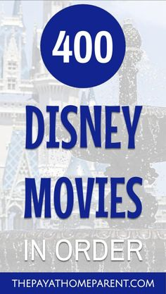 A list of every single one of them to be exact! Check out all of these Disney Movies as some of them you've probably never heard of. Did you even know there are 400 Disney Movies in circulation? Disney Movies are my favorite! 2000s Disney Movies, All Pixar Movies, Film Pixar, Every Disney Movie, Disney Movies To Watch, Film Disney, Disney Animated Movies, Disney Movie Quotes, Disney Films List Of