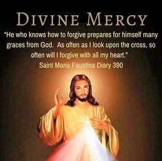 St Maria, Divine Mercy, With All My Heart, Forgiveness, God, Dios, The Lord