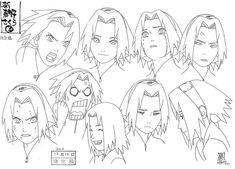 Character sheets for Naruto Naruto Drawings, Art Naruto, Naruto Sketch, Naruto Shippuden Sasuke, Anime Naruto, Kakashi, Sakura Haruno, Manga Drawing, Manga Art