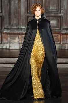 Kind of a vintage, old Hollywood glamour feel to L'Wren Scott's Fall 2012 Collection.