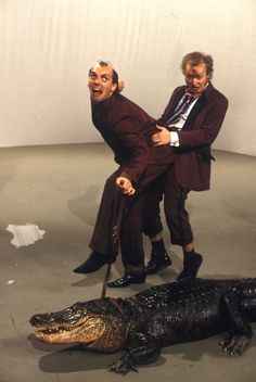 Rik Mayall and Ade Edmondson Comedy Actors, Comedy Duos, British Comedy, British Actors, Rik Mayall Bottom, Ade Edmondson, Great Comedies, Tumblr Love, Young Ones