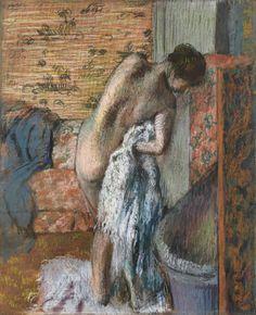 Edgar Degas - After the Bath