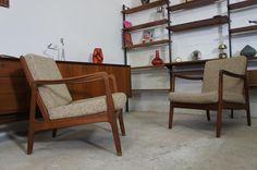 1von2 Easy Arm Chair Sessel Teak Ole Wanscher France & Son / Cado 50er Jahre