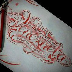 ArtWork by: @olivermagnetic -  Gritemos con Brio Venezuela... Muera la Opresión **Diseño disponible** Información y citas: Oliver.magnetic@gmail.com 04141078247 (sólo whatssap)  #olivermagnetic #caracas #Venezuela #tatuadoresdevenezuela #tattoovenezuela #Tattoo #tattooartist #artistasvenezolanos #artistasdeltatuaje #magnetictattoostudio #tattoo #inked #instagood #ccs #vzla #tattoolife #customlettering #artoftheday #art #lettering #inkroll #script #scriptkilla #inkandroll #letters  #tattoos…