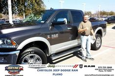 #HappyAnniversary to Stuart Burson on your 2014 #Ram #2500 from Ruben Perez at Huffines Chrysler Jeep Dodge RAM Plano!