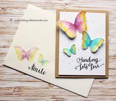 A Blog Called Wanda - More Watercolor Butterflies!