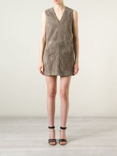 BELSTAFF fringed suede dress from Farfetch is perfect for a festival look or a dressed up night time vibe