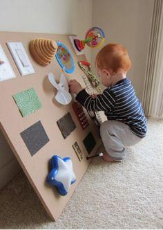 pannello sensoriale bambini