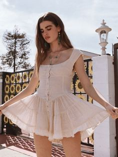 The Elisabeth Dress by Vanessa Mooney. Shop Dress, Jewelry and Accessories that are handcrafted in Los Angeles. Always unique and ever imaginative... Jewelry...