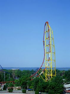 Top Thrill Dragster at Cedar Point...awesome ride...it's just too short!