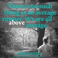 No Such Thing As An Average Runner