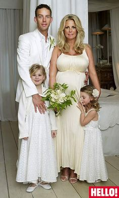 Ulrika jonsson and husband three