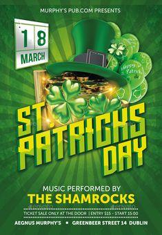 St. Patricksday Flyer