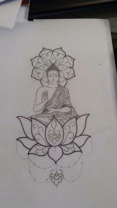 Lord buddha pencil sketches laughing buddha tattoo done by ziggy at little bros tattoo in cb ia Buddha Tattoo Design, Buddha Tattoos, Buddha Lotus Tattoo, Trendy Tattoos, Cute Tattoos, Body Art Tattoos, New Tattoos, Girl Tattoos, Sleeve Tattoos