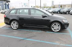 2015 Volkswagen Golf SportWagen TDI SEL Exterior: Black (Black) Interior: Titan Black (Black) Status: In Stock Mileage: 14 Engine: Intercooled Turbo Diesel I-4 2.0 L/120 Transmission: Automatic STK #: G584