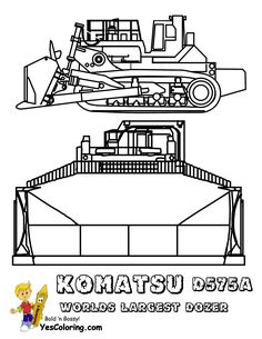 53 Bulldozer Construction At Coloring Pages Book For Kids Boys 1054x1364 Worlds LargestColoringConstruction