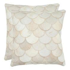 Ariel Cowhide Pillow